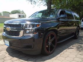 Chevrolet Suburban 5p 5.3 V8 Piel