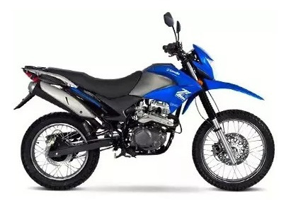 Moto Enduro Zanella Zr 250 Lt Cross Zeta Motos