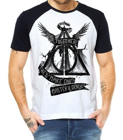 Camiseta Raglan Harry Potter - Mestre Da Morte