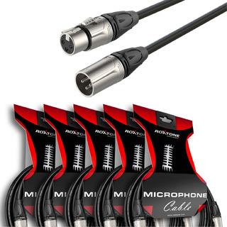 Cable Canon Canon 10 Metros Roxtone Dmxx200l10 Combo X5