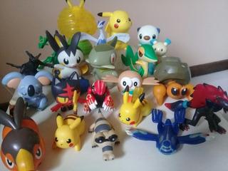 Coleção Pokemon Maioria Mc Donalds C/ 21 Bonecos