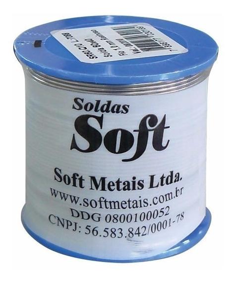 Rolo Carretel Solda 500gr Trifluxo 60 X 40 X 0,8 Mm Soft