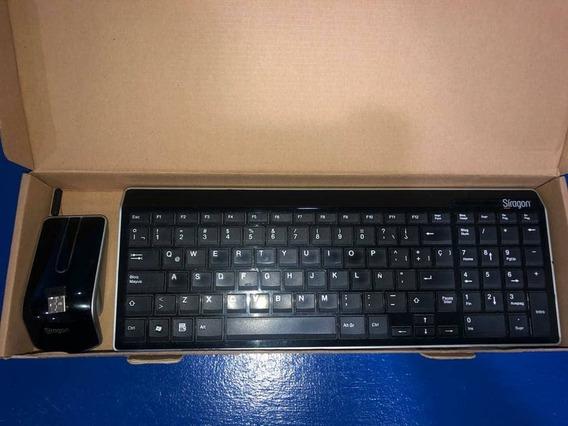 Teclado Y Mouse Inalámbrico Síragon 2.4g Wireless Combo