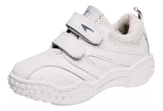 Zapatillas Plumitas Colegial Blancas Nueva2020 Oferta Abrojo