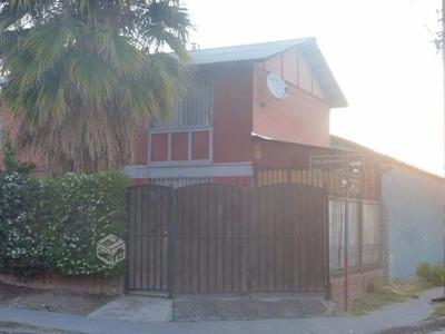 Casa Esquina De Calles, Ampliación Local C. Puente Alto.
