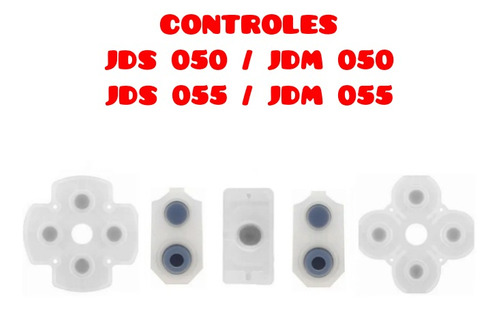 Borracha Condutiva Jds Jdm 050/055 Controle Ps4