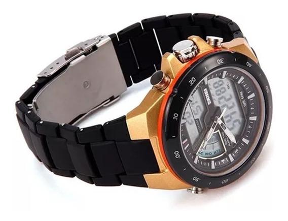 Relógio Masculino Skmei Original À Prova D