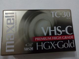 Cassette Vhs-c Filmadora Tc-30 Vhsc - Caballito