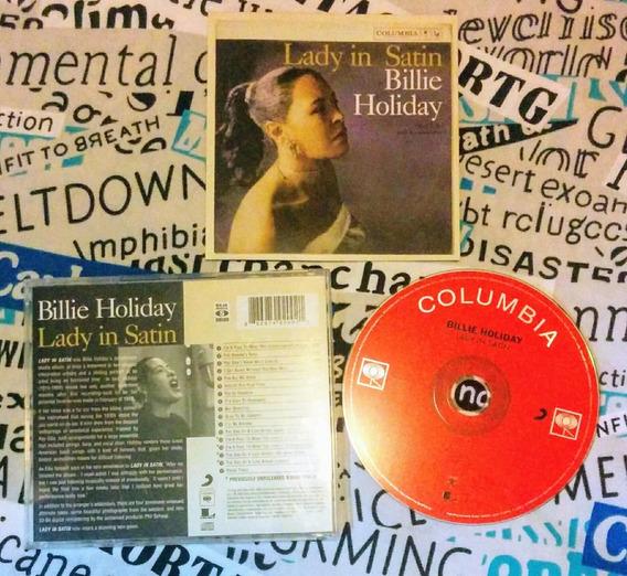 Billie Holiday : Lady In Satin - Original
