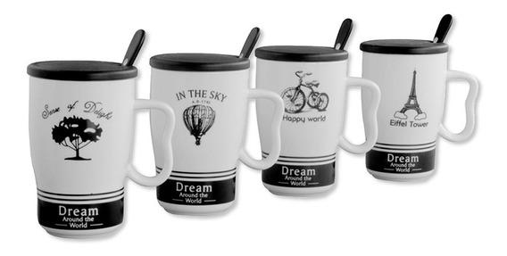 Set Mug Ceramica Dream X 4u. Cocina Morph