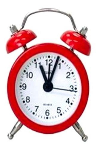 Imagem 1 de 5 de 40 Mini Despertador Relogio Vintage Souvenir Festa Retro Aço
