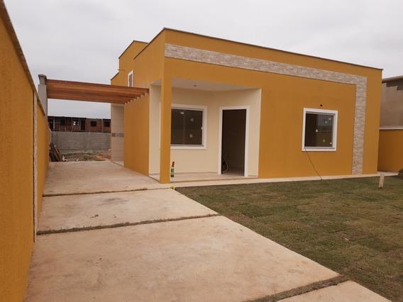 Casa De 2 Quartos Sendo 1 Suíte Terreno De 440 M2 Financia