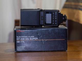 Flash Sigma Ef-530 Dg Super Para Nikon