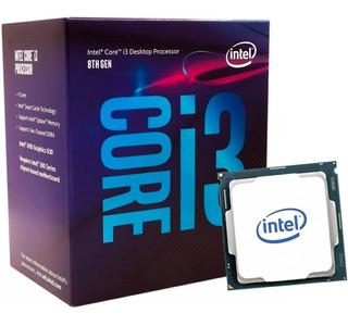 Procesador Intel I3 8100 Core I3 8va Generacion Socket 1151