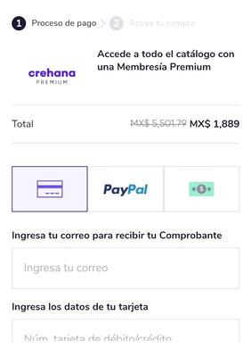 Cuenta Premium Anual Crehana A Tu Nombre Y Correo