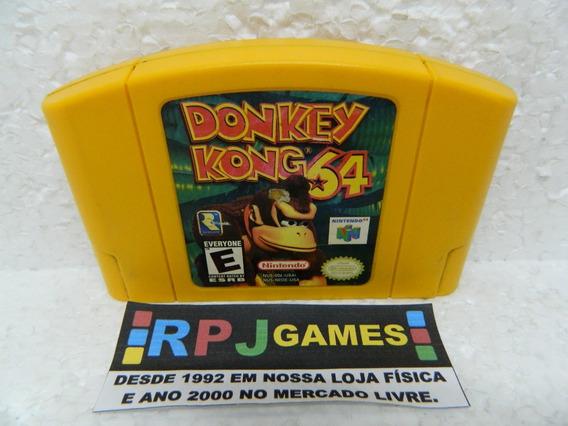 Donkey Kong 64 Original Salvando P Nintendo 64 N64 - Loja Rj