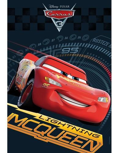Saco P/presente Carros Disney Mcqueen 31x17,5cm C/40 Un.