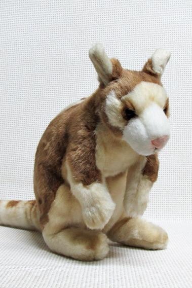 Canguru Pelucia Hansa 30 Cm Baug