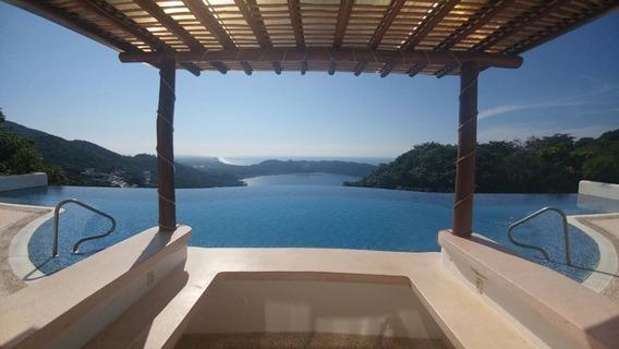 Venta Departamento Con Vista, En Escénica, Acapulco