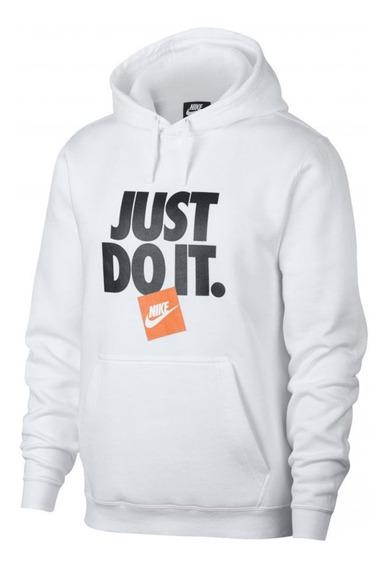 Sudadera Just Do It Nike Naranja Logo Envio Gratis Edicion 1