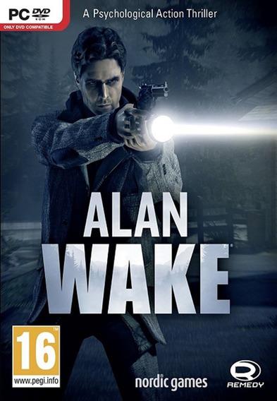 Alan Wake Pc - Steam Key. (envio Rápido)