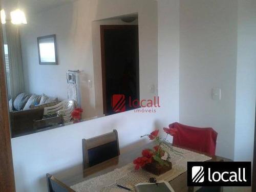 Apartamento Residencial À Venda, Cidade Nova, São José Do Rio Preto. - Ap0041