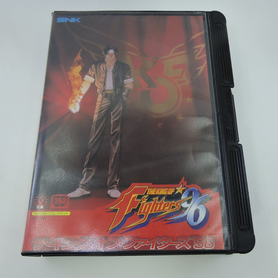 The King Of Fighters 96 Completo Japonês Neo Geo Aes Kof