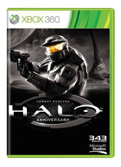 Halo Combat Evolved Anniversary Xbox 360 Mídia Física