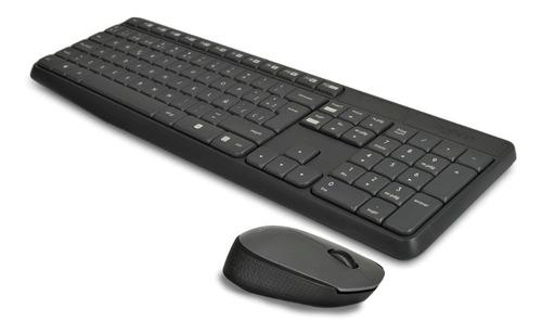 Kit Teclado Y Mouse Inalambrico Logitech Mk235 Usb