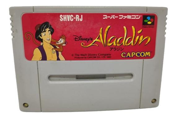 Cartucho Aladdin Original Japonesa Super Famicom Snes