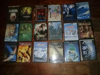 Lote De Películas Dvd Y Cd Copias Con Cajas