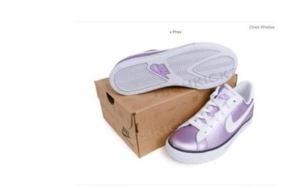 Tenis Marca Nike Talla Usa 7 Miden 25 Cms De Mujer