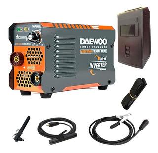 Soldadora Inverter Daewoo 140 Amp Portatil Electrica Mascara