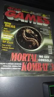 Revista Ação Games Nº 93 Impecável