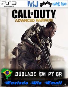 Call Of Duty Advanced Warfare Cod Psn Ps3 Promo Envio Gratis