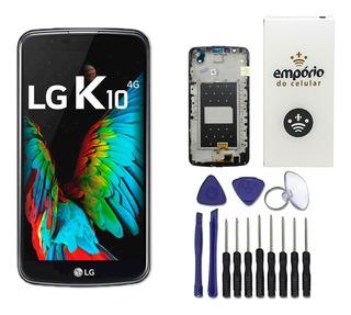 Tela Touch Display Lcd Lg K10 K430tv K420n K430ds Original