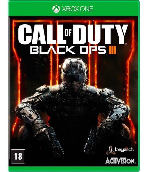 Call Of Duty Black Ops 3 Cod Bo3 Xbox One Midia Fisica Novo