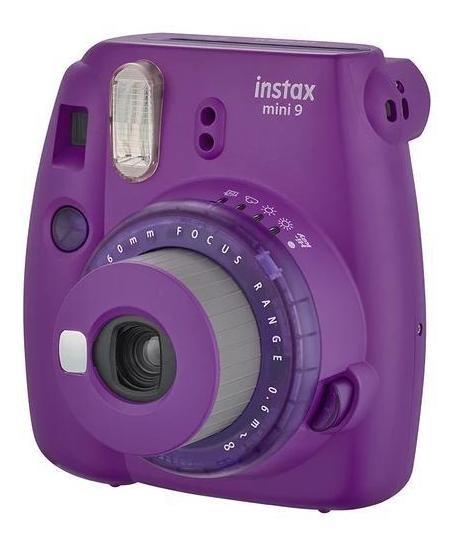 Câmera Fujifilm Instantânea Instax Mini 9 Roxo
