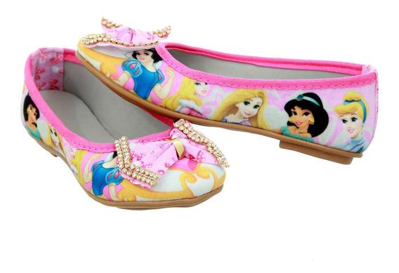 Sapatilha Infantil Meninas Juvenil Princesas
