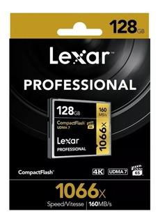 Cf Card Lexar 1066x 128gb Novo Udma 7