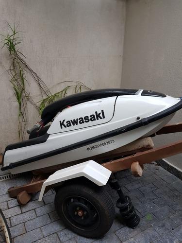 Jet Ski Kawasaki Em Pé + Carreta