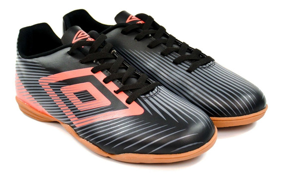 Tênis Indoor Speed 628696 Preto/coral Umbro 10812