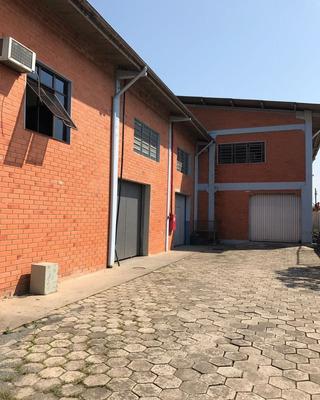 Galpão Em Joinville 100% Averbado | 1600m² Construídos | 2800m² De Terreno - Sa00061 - 31949092