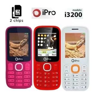 Aparelho Telefone Idoso Ipro I3200 Quad Band
