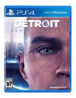 Detroit Become Human Físico Ps4 + Envio Gratis
