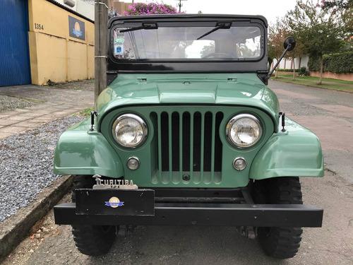 Jeep Willys 1965 6cc 45.000 Km Originais