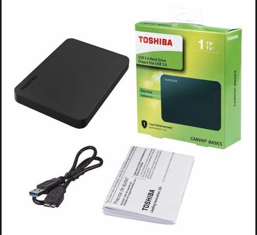 Disco Duro Externo Toshiba 1tb  Basic Tamaño 2,5