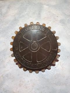 Insignia Logo Rotary Internacional Club Año 1965