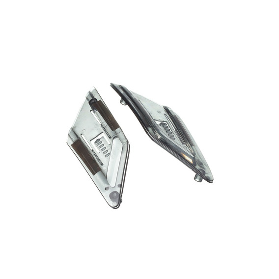 Entrada De Ar Lateral Texx Capacete Mod. Silver Eagle (par)