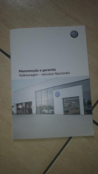 Manual De Revisão E Garantia Volkswagen Virtus Em Branco